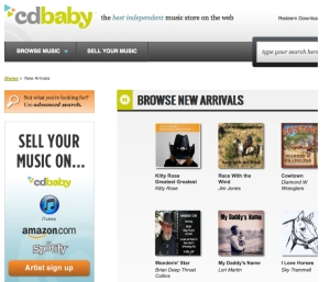 Kitty on CDBaby Web